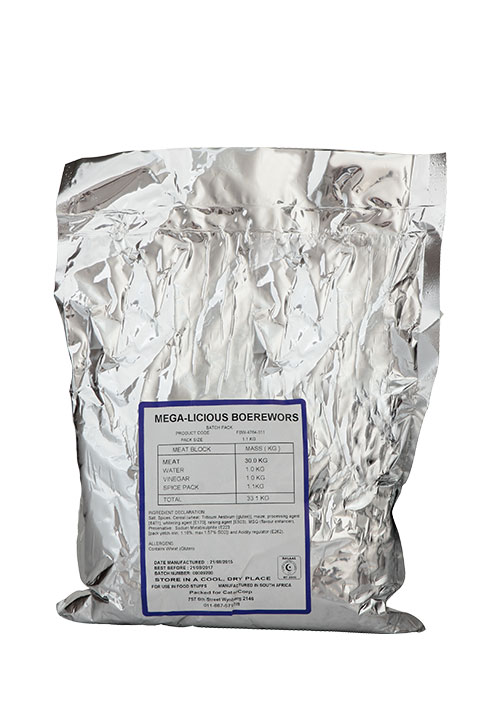 silver packet
