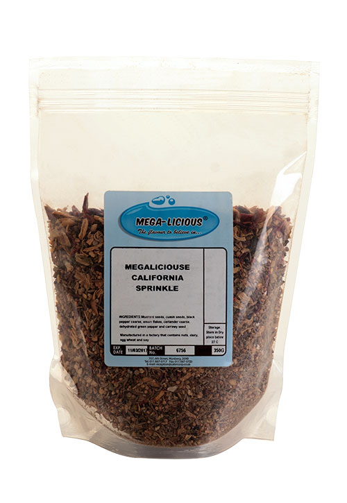 megalicious california sprinkle in packet