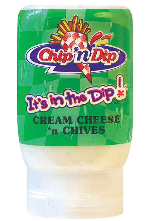 Chip 'n Dip Cream Cheese & Chives in 250ml squeeze bottle