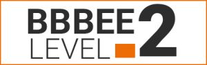 BBBEE level 2 logo