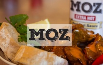 chicken livers in Moz Extra Hot Peri Peri sauce
