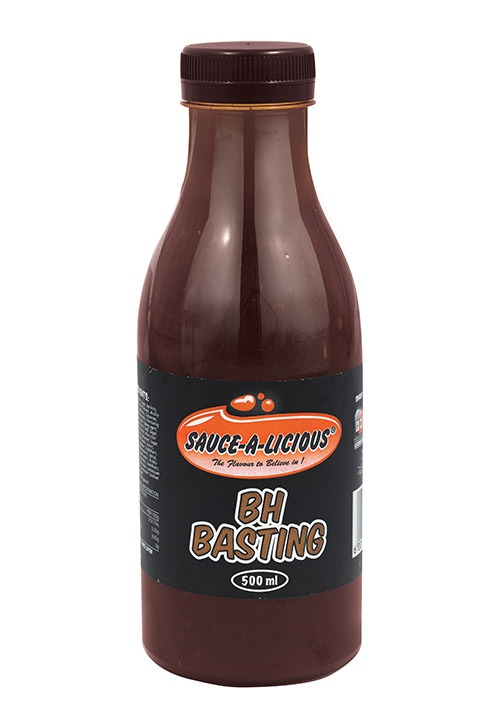 Sauce-a-licious BH Basting in 500ml bottle