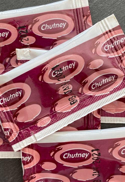 Chutney sachets
