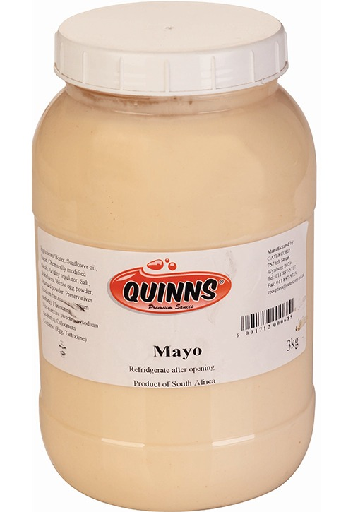 Quinns mayo in bottle