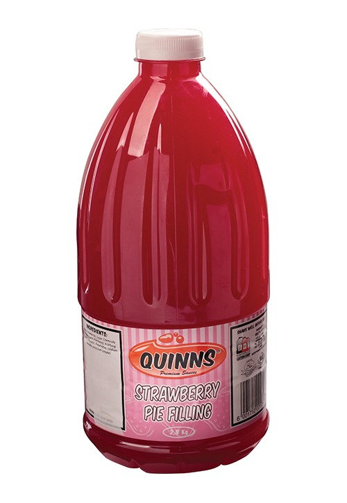 Quinns strawberry pie filling in bottle