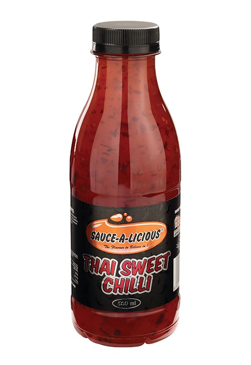 Sauce-a-licious Thai Sweet Chilli in 500ml bottle
