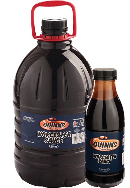 Quinns Worcester Sauce Different Size Bottles