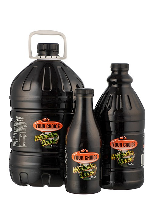 Your Choice Worcester Sauce in different size bottles