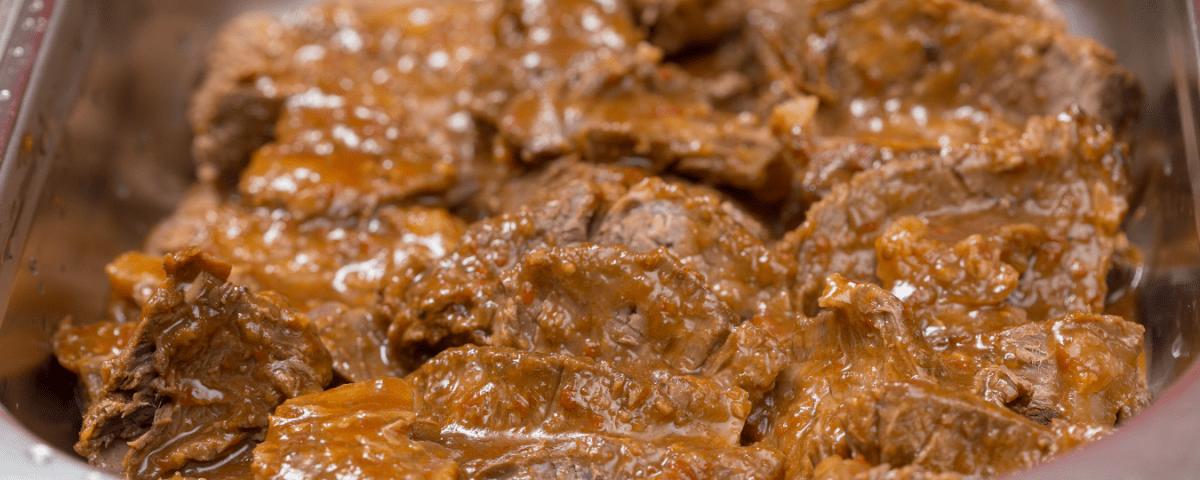 chuck roast in dish