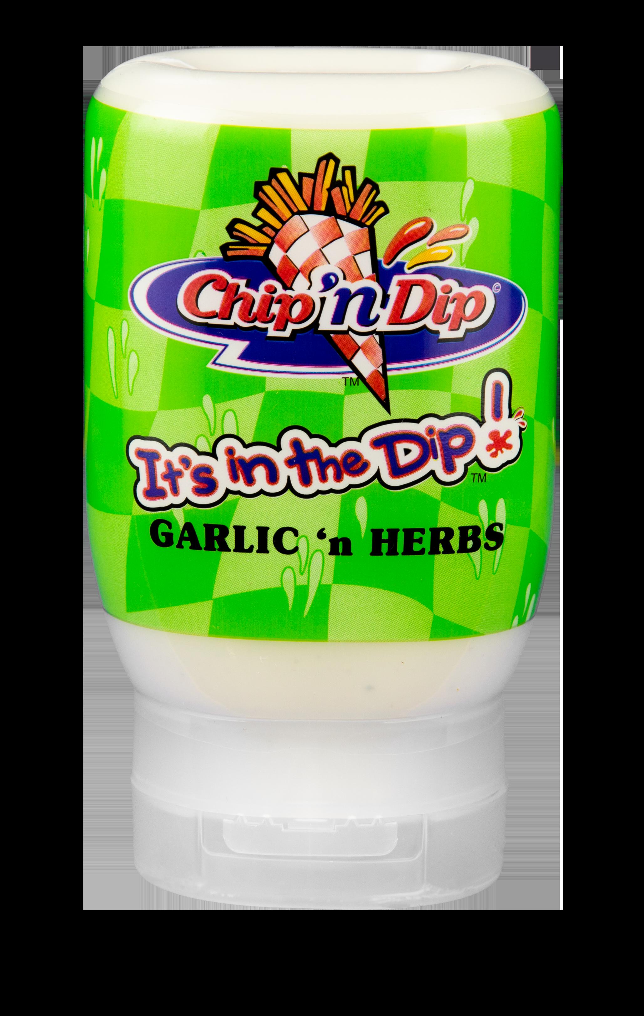 Chip 'n Dip Garlic 'n Herbs in 250ml squeeze bottle