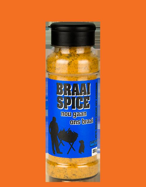Nou Gaan Ons Braai Braai Spice in 200g shaker