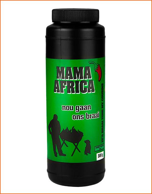 Nou Gaan Ons Braai Mama Africa spice in 300g shaker