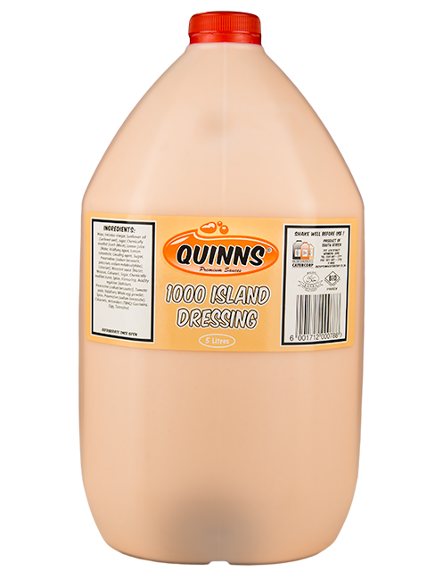 Quinns 1000 Island Sauce in 5L bottle