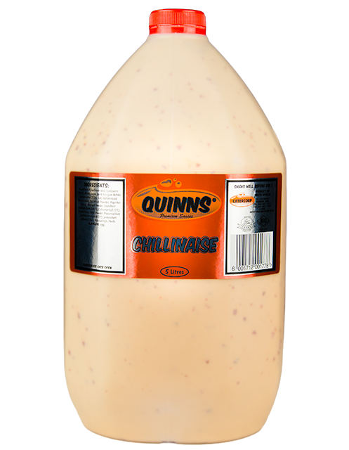 Quinns Chillinaise Sauce in 5L bottle
