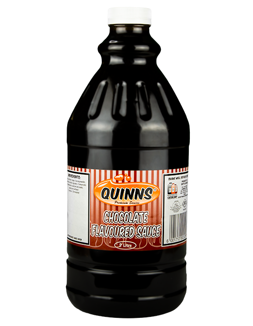 Quinns Chocolate Flavoured Sauce in 2L bottle
