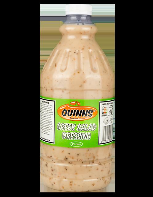 Quinns Greek Salad Dressing in 2L bottle