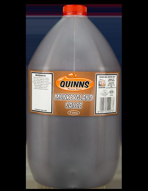 Quinns Monkeygland Sauce in 5L bottle