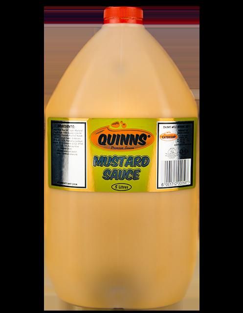 Quinns Mustard Sauce in 5L bottle