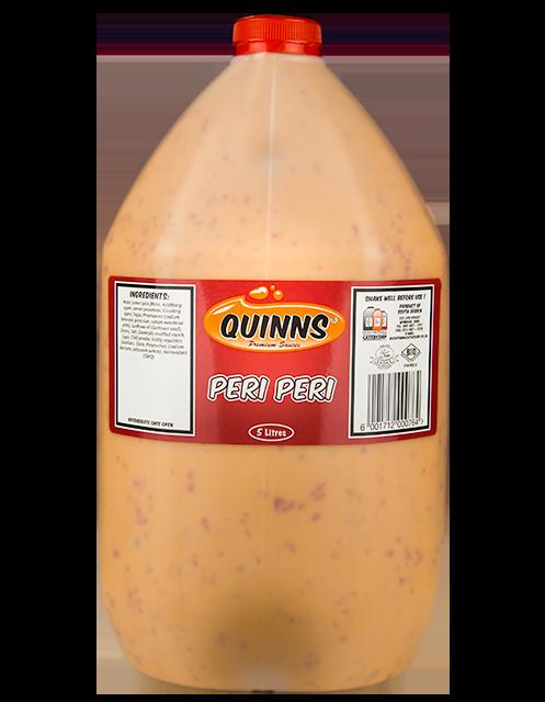 Quinns Peri Peri in 5L bottle