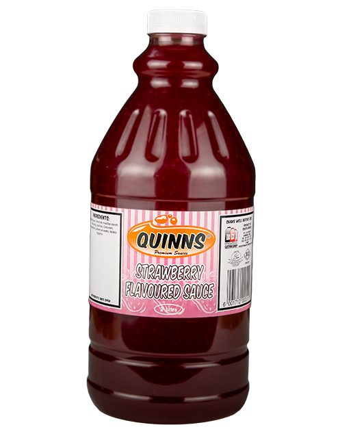 Quinns - Low Res Website Strawberry flavoured Sauce
