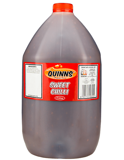 Quinns Sweet Chilli sauce in 5L bottle