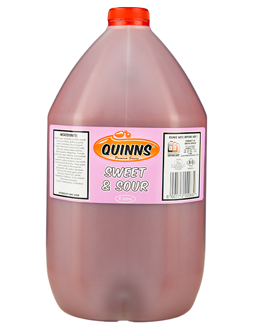 Quinns Sweet and Sour sauce in 5L bottle