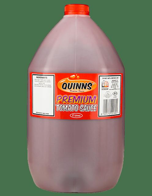 Quinns Premium Tomato Sauce in 5L bottle