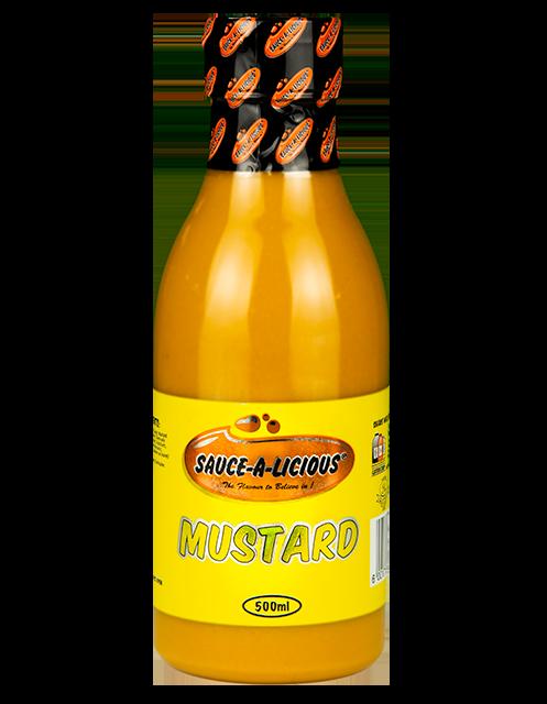 Saucealicious - Low Res Website Mustard