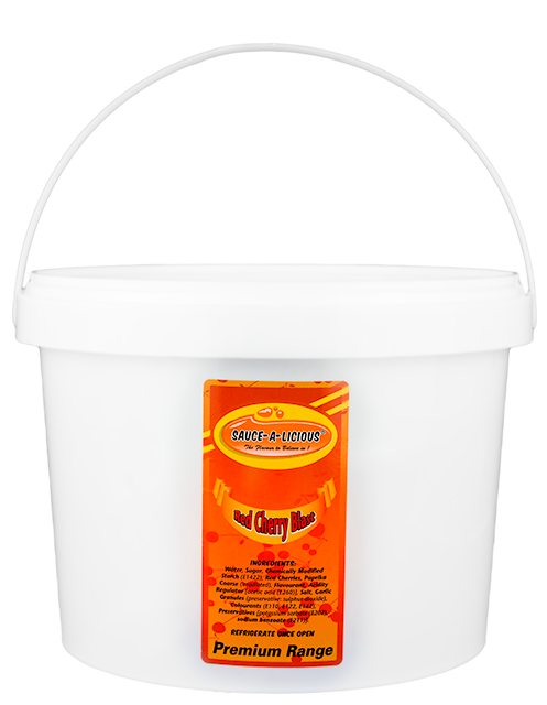 Sauce-a-licious Red Cherry Blast in 5kg bucket