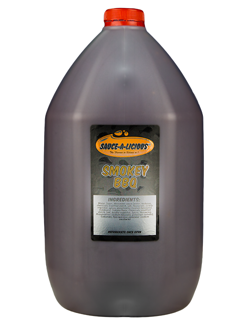 Sauce-a-licious Smokey BBQ Sauce in 5L bottle