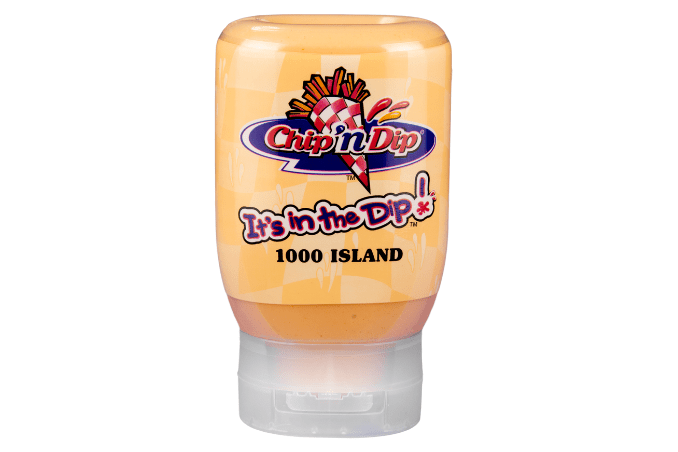 Chip 'n Dip 250ml Thousand Island sauce in squeeze bottle