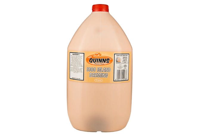 Quinns 5L Thousand Island Dressing in bottle